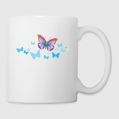 Butterflies moth insects spring summer - Mug