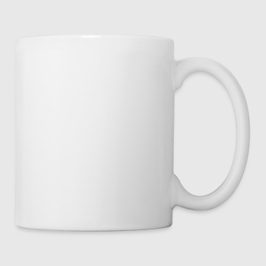 You can't scare me - I have a daughter - weiß - Tasse