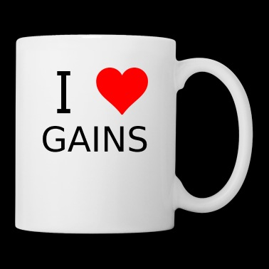 I love Gains - Tasse
