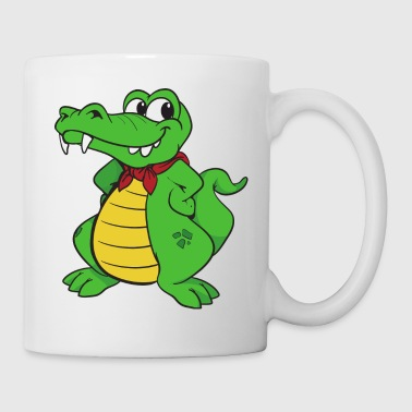 Krokodil Alligator - Tasse