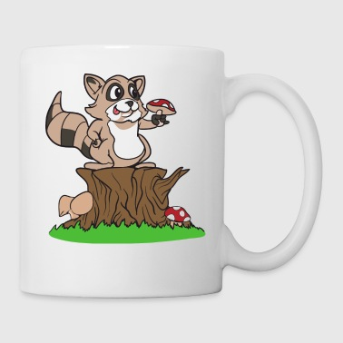 mapache Badger - Taza