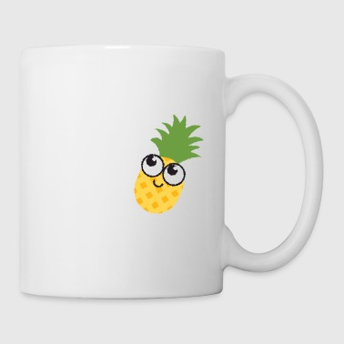 fruits ananas ananas - Tasse