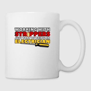 WORKING WITH STRIPPERS - ELECTRICIAN - Tasse