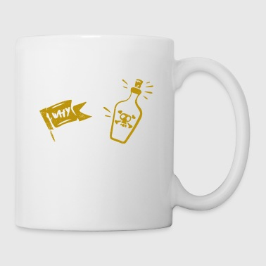 I Am the Reason Why Rum is Gone Gift - Tasse