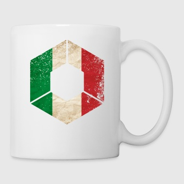 HEXAGON ITALIEN GRUNGE - Mugg