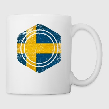HEXAGON SWEDEN GRUNGE - Tasse