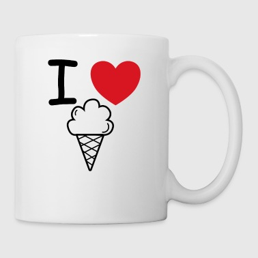I love ice cream ice cream gift idea - Mug