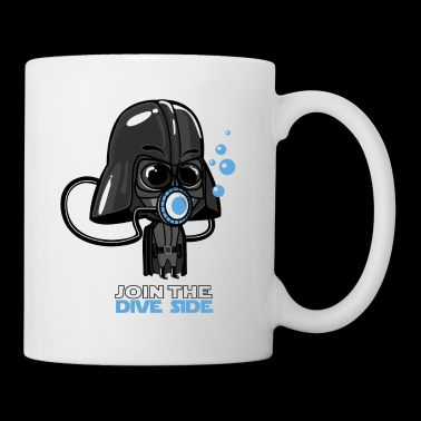Join the dive side - Tasse