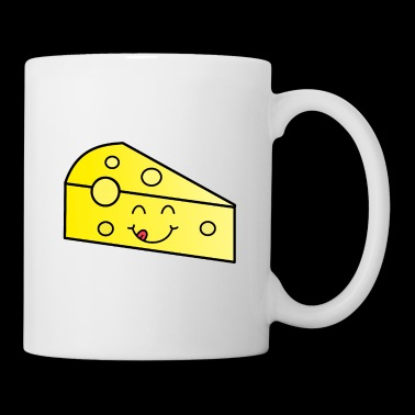 Cheese food kids rire idée cadeau - Mug blanc