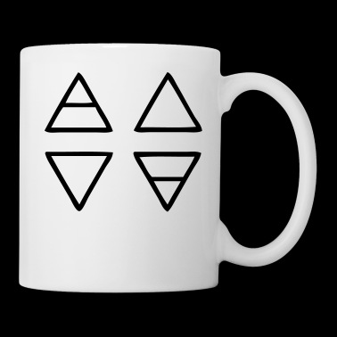 Alchemy Symbols Nature - Mug