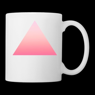 Simple simple pink triangle design / symbol - Kop/krus