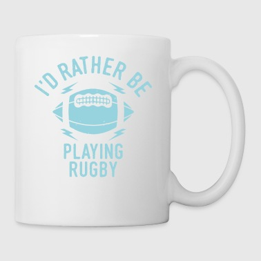 Rugby Player Team Team Cool Funny Gift - Taza
