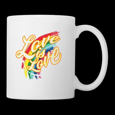 CSD T-Shirt love is love - Tasse