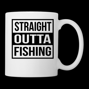 Straight Outta Fishing - Kubek
