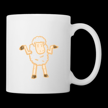 Sheep happens - stupid - sheep - Mug