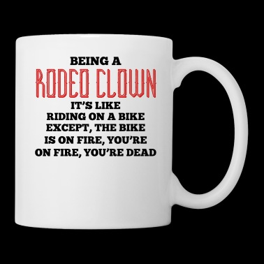 Rodeo - Clown - Circus Western - Gift - Horse - Kubek