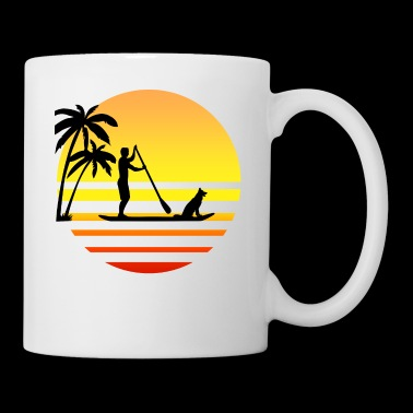 Stand up paddle - Mug blanc
