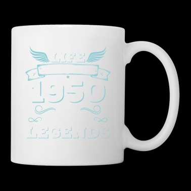 Life begins in 1950's The Birth of Legends, 1950 - Mug