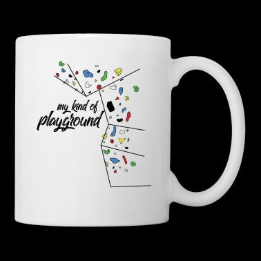 my kind of PLAYGROUND - Kletterwand T-Shirt - Tasse