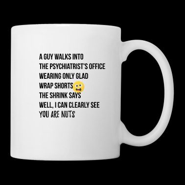 A guy walks into the Psychiatrists office - Tasse