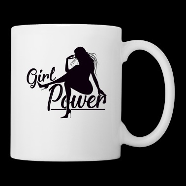 Girl Power Weapon of Women Confident - Taza