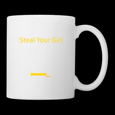 Watch me steal your girl! Funny chess quote! - Mug