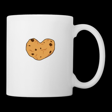 Biscuit cookies baker baking heart gift idea - Mug
