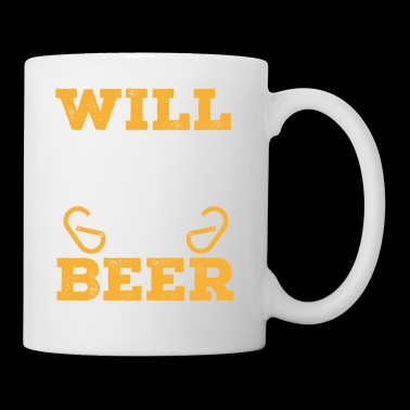 Will Belay For Beer Shirt - Tasse