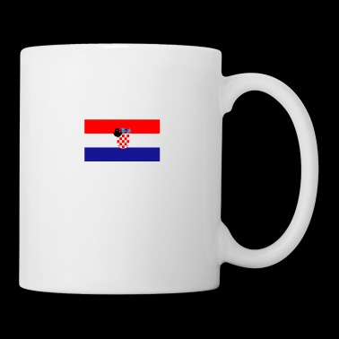 Croatia flag tea - Mug