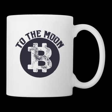 Bitcoin to the Moon - Tasse