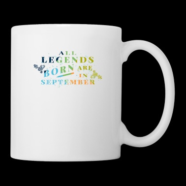 Regalo de Legends September Born - Taza