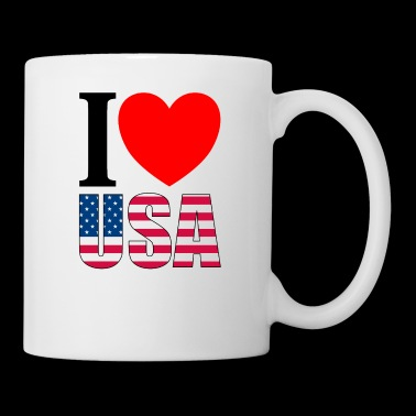 I Love USA - Tasse
