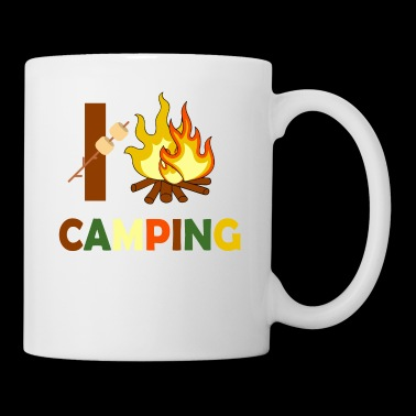 I Love Campfires and Camping - Tasse