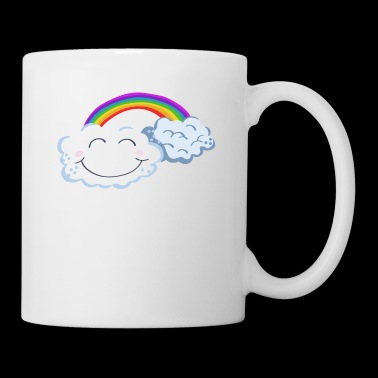 Lucky Day - Clouds With Rainbow - Cómic - Taza