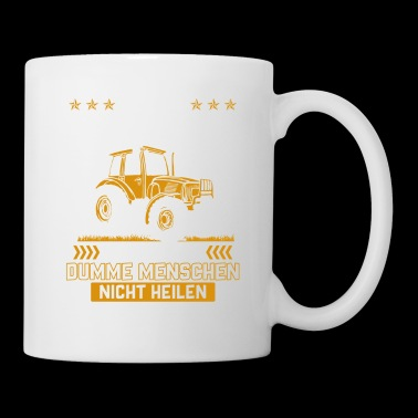 Farmer shirt · agriculture · stupid people - Mug