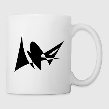 Motive insect fantasy black white - Mug