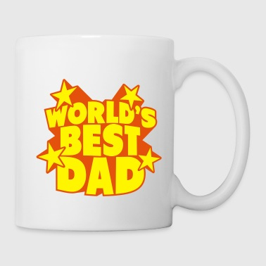 World's best dad - world best dad - father's day - Mug