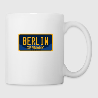Berlin Tyskland USA License Plate Design - Kopp