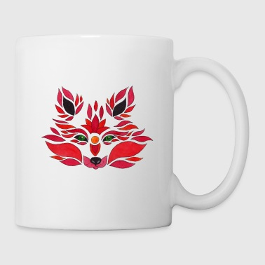 fox illustration - Tasse