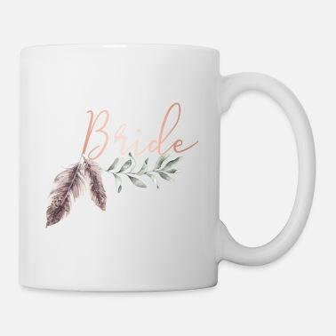 Geschenk Tee Kaffee Hochzeit Henne Bride To Be Becher