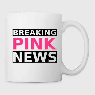 Breaking Pink News - Tasse