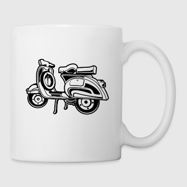 Scooter 03_black - Mug