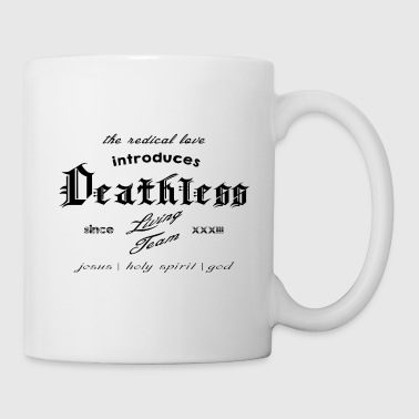 deathless living team black - Mug