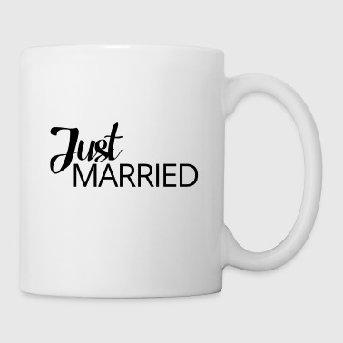 Mariage / Mariage: Just Married - Tasse