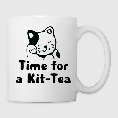 Time for a Kit-Tea - Mug