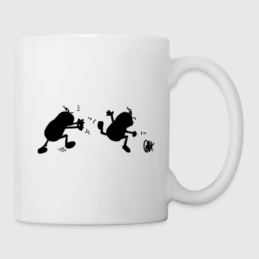 Peanuts on the run - Mug