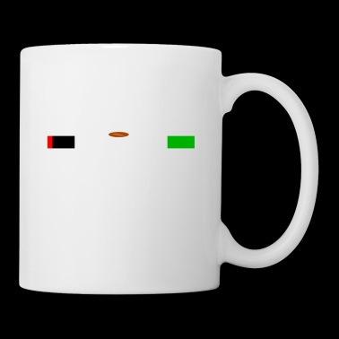 Coffee T-shirt for a full battery in everyday life - Mug