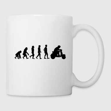 Evolution scooter driver - Mug
