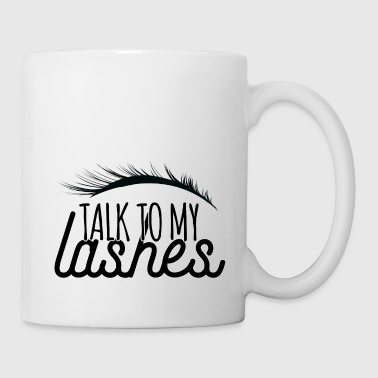 Beauty / MakeUp: Talk To My Lashes - Mug