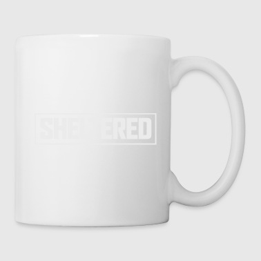 Abritée Logo Simple Blanc - Tasse
